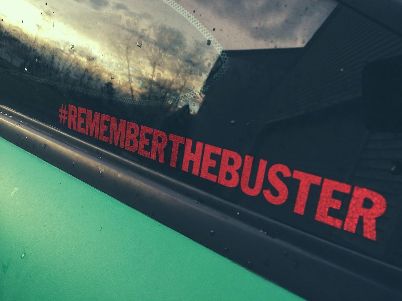 Rememberthebuster overnight decals from japan