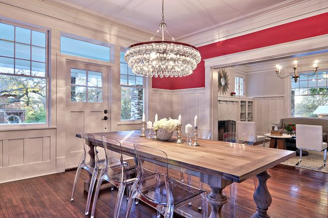 Contemporary Crystal Chandeliers For Dining Room With Round Crystal Dining  Room Chandelier Ideas And Solid Wood