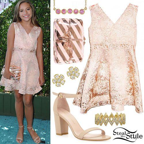 Mackenzie Ziegler 2016 Teen Choice Awards Outfit | dresses | Pinterest | Mackenzie ziegler ...