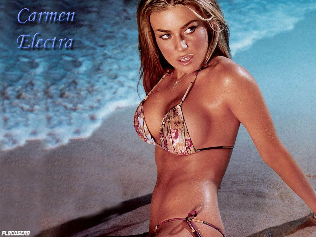 Carmen electra domination
