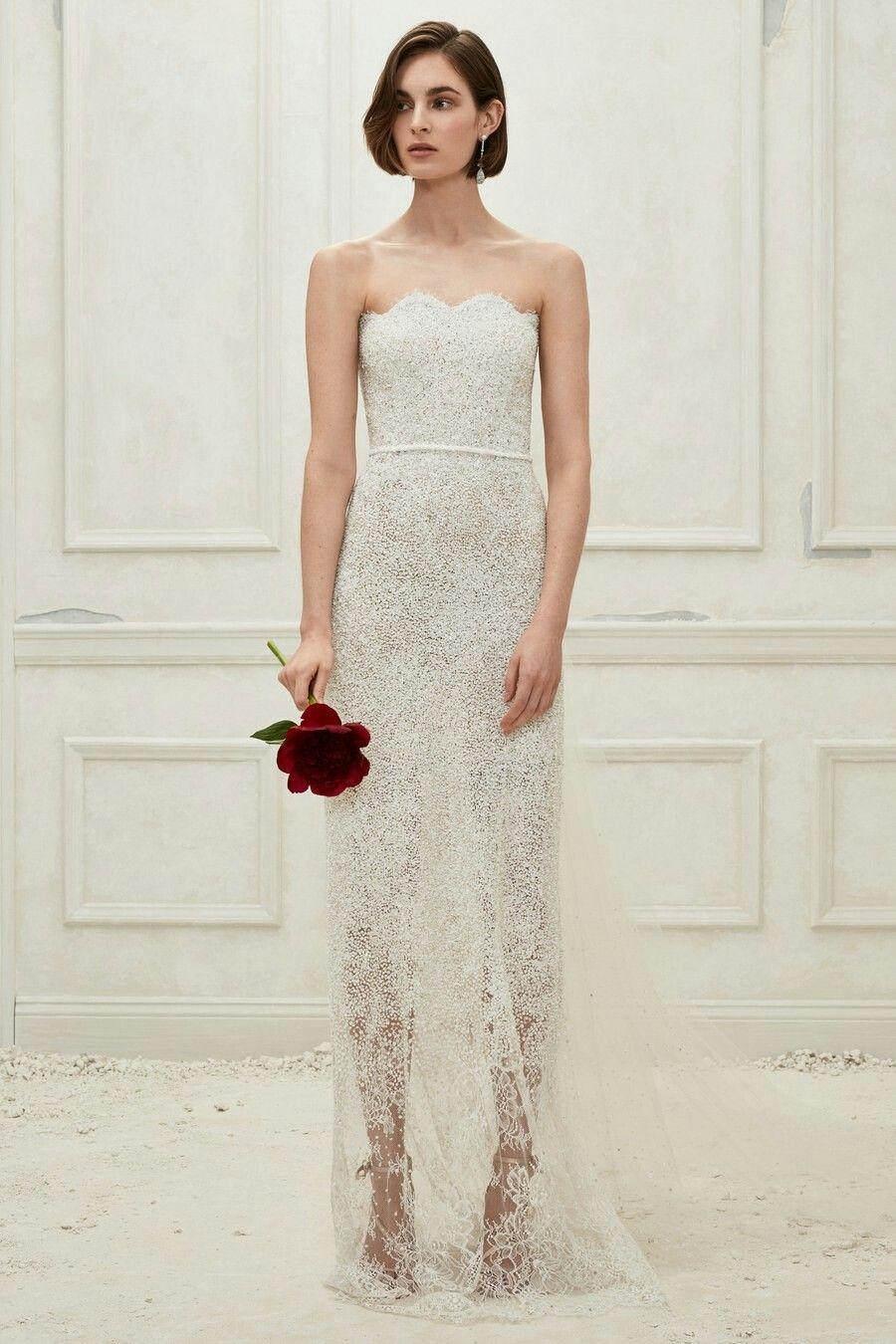 Oscar de la Renta Fall 20 Bridal   Wedding dresses, Wedding ...