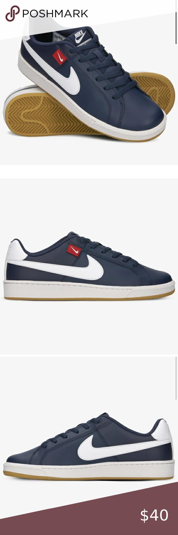 Shuraba caminar desencadenar  NEW Nike Men's Court Royale Tab Navy Blue | Navy blue sneakers, Nike men,  Blue sneakers