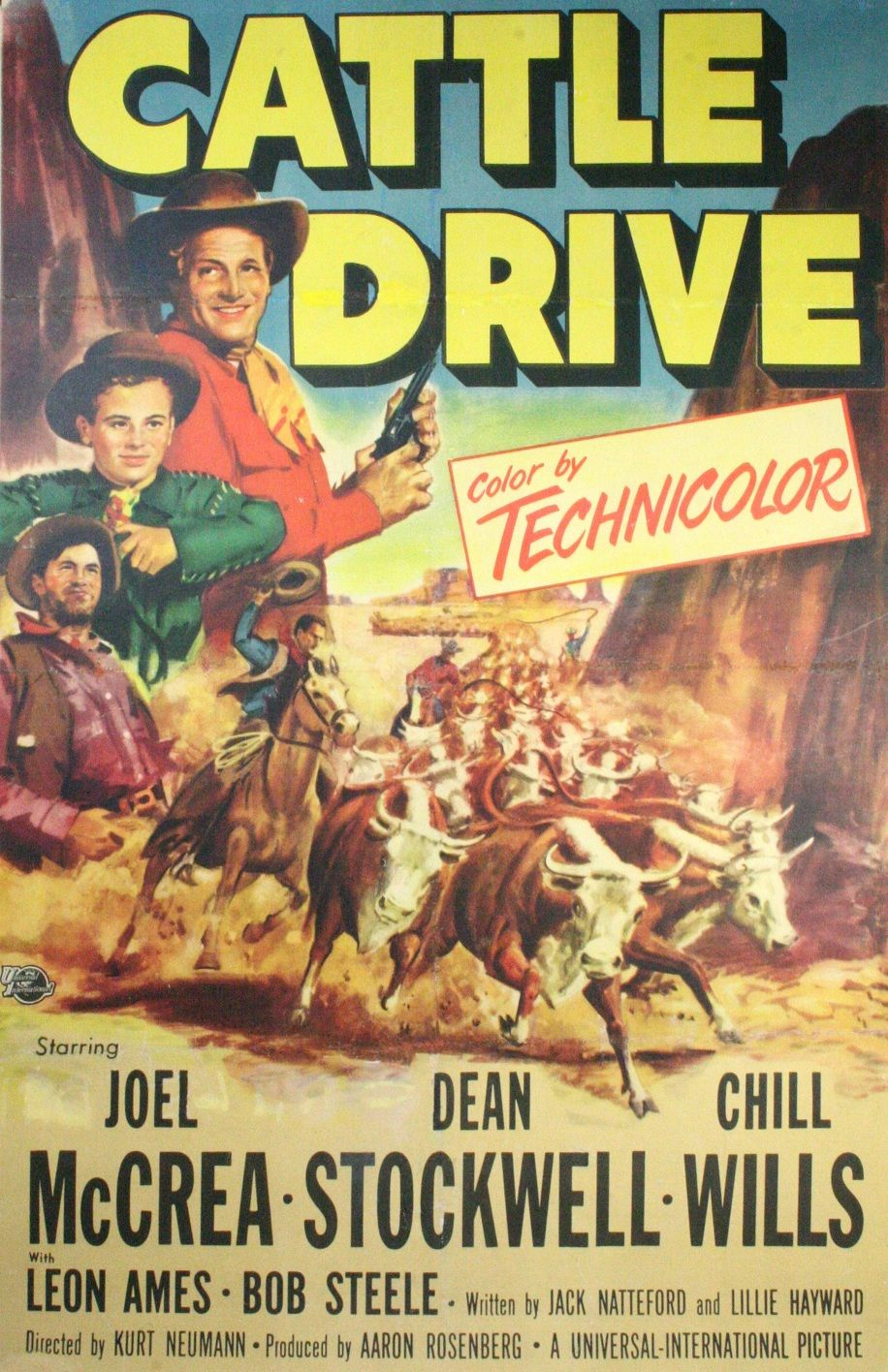 cattle drive movies list
