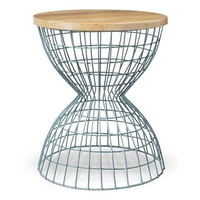 Threshold Accent Table - Aqua | new digs. | Table ...