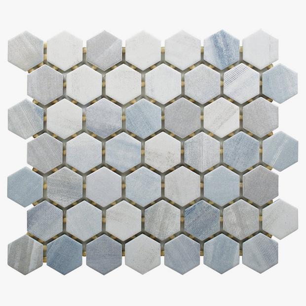 beaumont shadow 1 5 in hexagon ceramic
