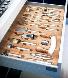 Essetre Drawer Inserts and Utensil Packages #wohnungküche