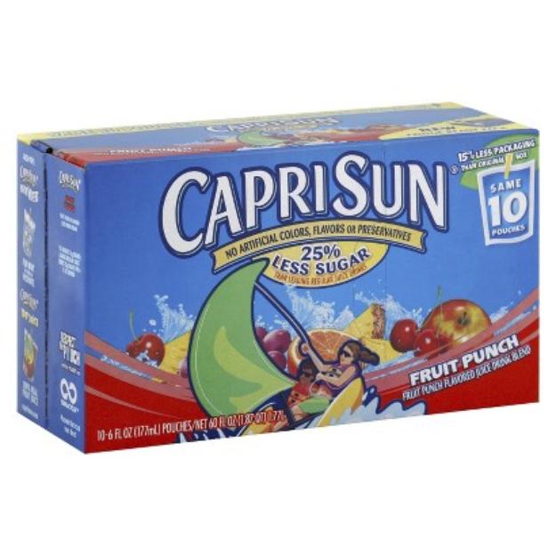 Capri Sun Reviews Q A Influenster Capri Sun Juice Capri Sun Mixed Fruit Juice