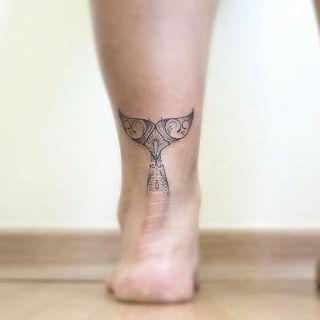 Animal, foot tattoo on TattooChief.com