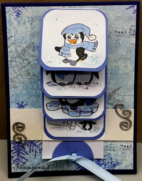 waterfall - Homemade Cards, Rubber Stamp Art, & Paper Crafts - Splitcoaststampers.com