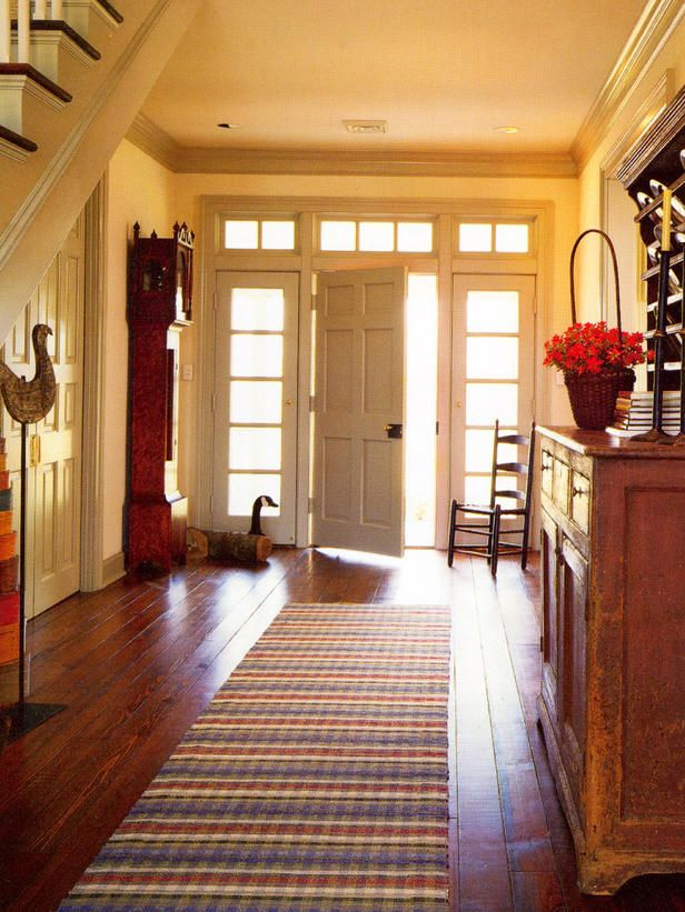 Make the Most of Your Foyer   Foyers, Desks and Staircases