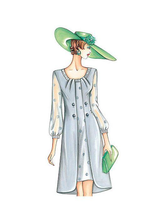 F3343 | Butterick Patterns | Sewing Patterns | fashion | Pinterest
