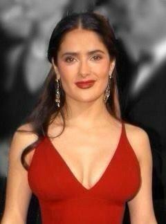Salma hayek sexy lips, working l wife poses nude