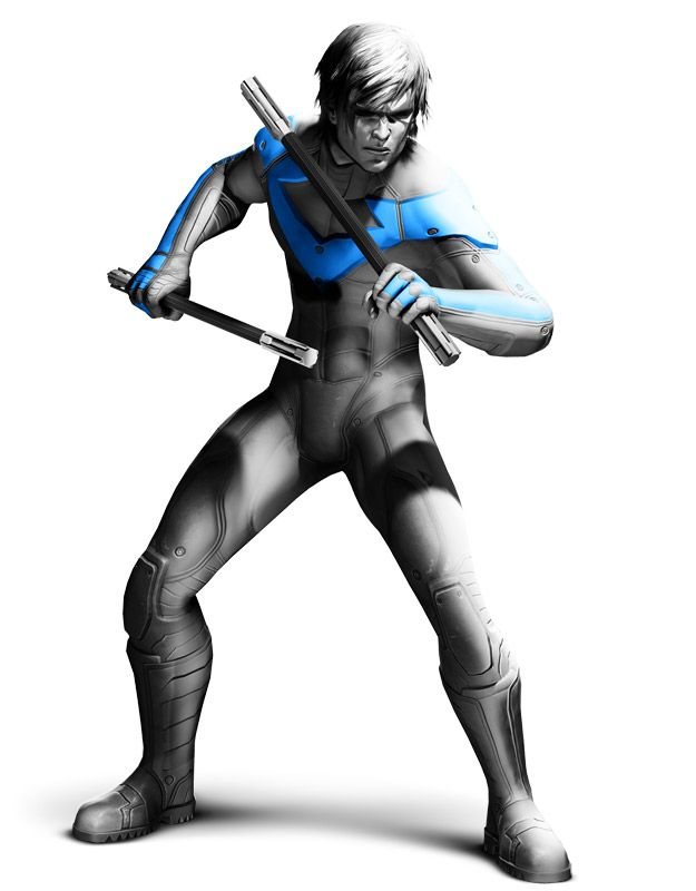 Nightwing Officially A Playable Character In Batman Arkham City