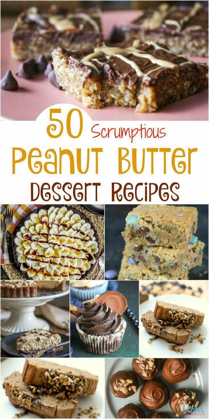 50 Scrumptious Peanut Butter Dessert Recipes that will Make you Drool Part 2 #desserts #sweets #peanutbutter #recipes #getinmybelly #peanutbuttermugcake #peanutbuttercake