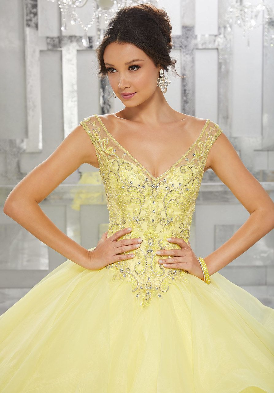 Mori lee vizcaya quinceanera dress style long formal gowns