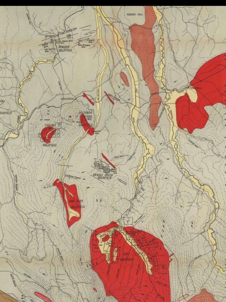 Tassie Alluvial Gold fields