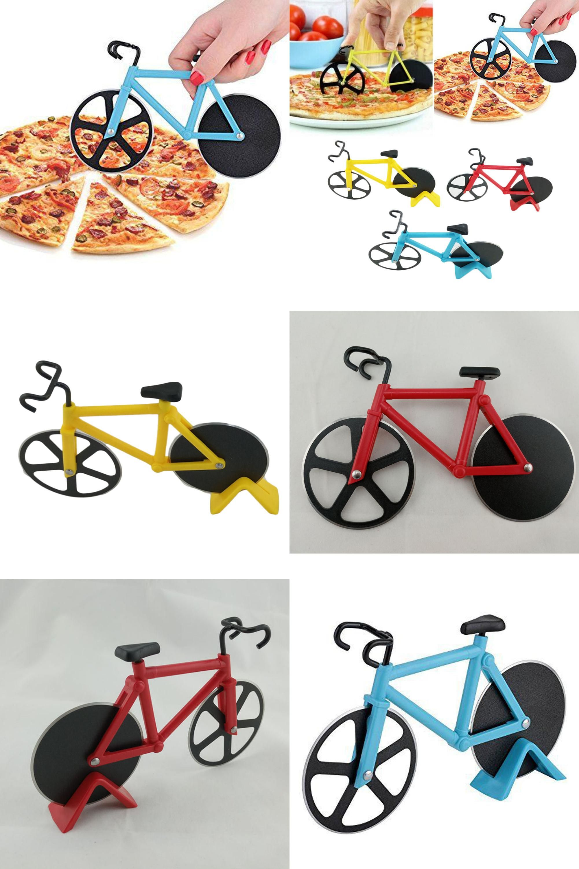 Visit To Buy High Quality Bicycle Pizza Cutter Dual Stainless