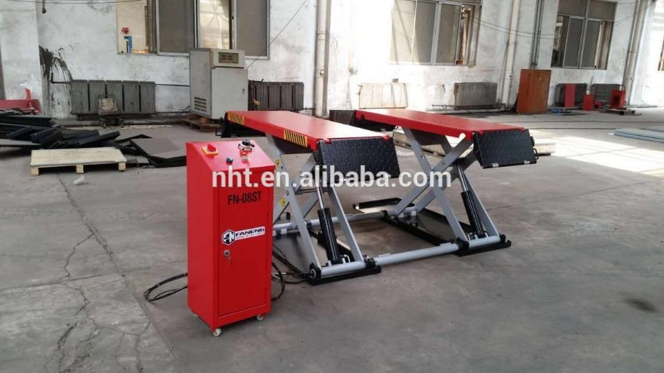 On Sale Mobile Thin Scissor Cylinder Car Lift With CE