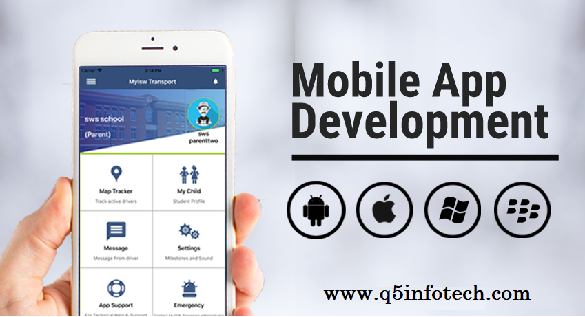 The mobile application development industry is growing at a faster