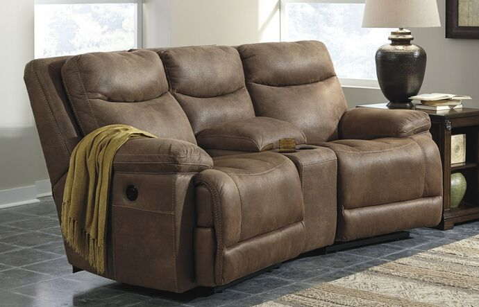3 pc valto iv collection saddle colored fabric theater sectional rh pinterest com