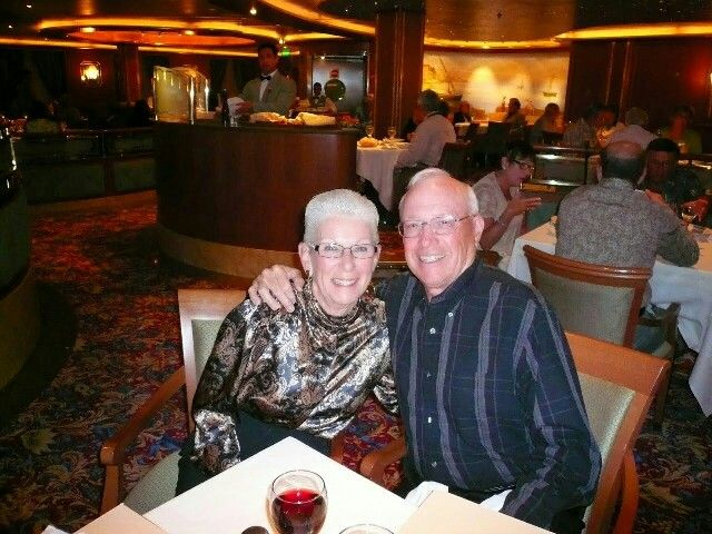 Harriet And Dan Reehorst On The Star Princess With Images Dan