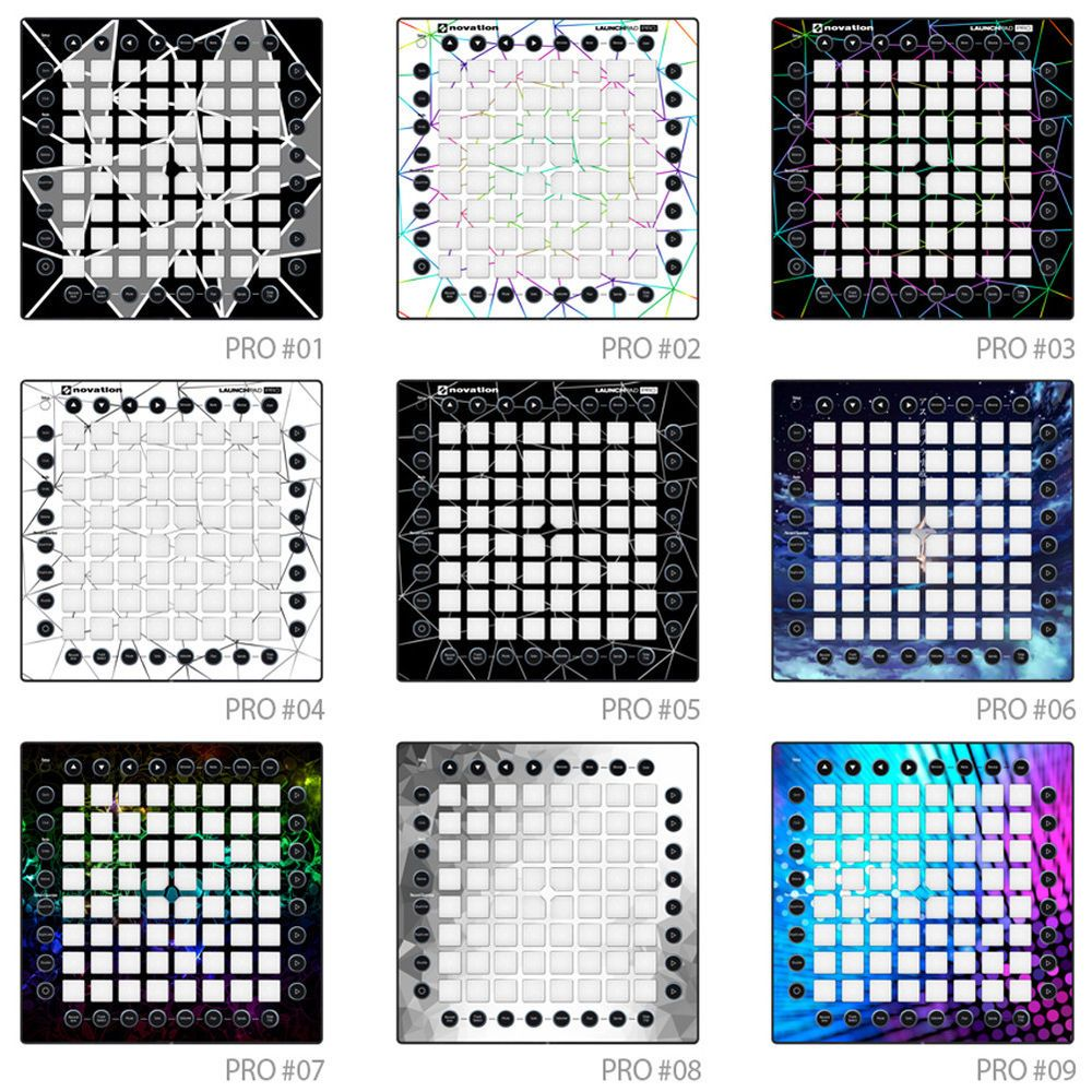 POP SKIN Decal Sticker For Novation Launchpad Pro Controller Phantom