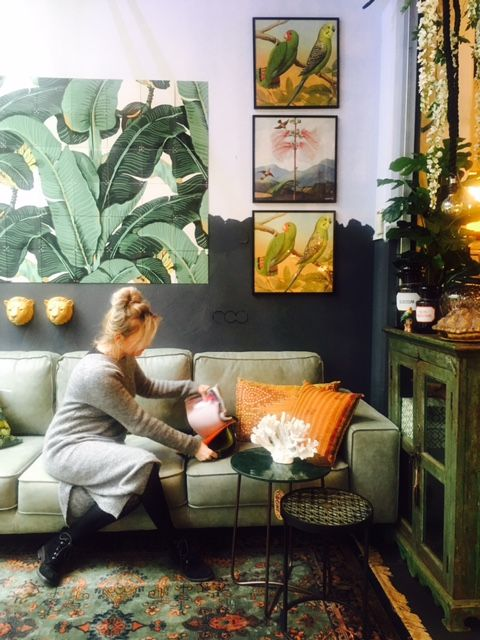 Afbeeldingsresultaat voor groene woonkamer | Sfeer woonkamer ...