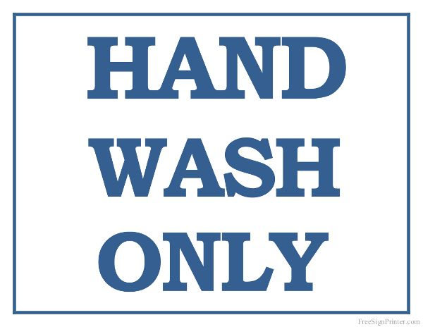 photograph regarding Printable Hand Wash Signs identified as Printable Hand Clean Simply just Indicator Cafeteria Indications Kitchen area