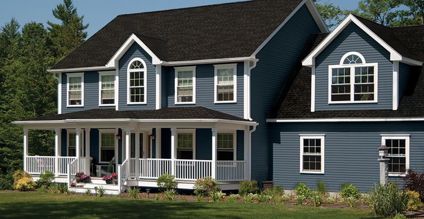 Best Alside Harbor Blue Or Midnight Blue For The Home 400 x 300