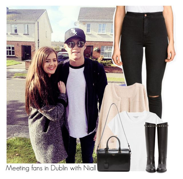 """""""Meeting fans in Dublin with Niall"""" by my-everthing-niall ❤ liked on Polyvore featuring H&M, Monki, Valentino and Yves Saint Laurent"""
