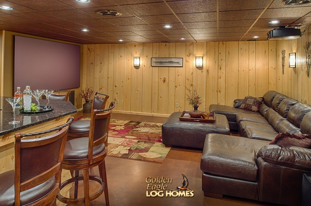 Log Home By Golden Eagle Homes Logs Cabin House Houses Rustic Knotty Pine Custom Design Designs Designer Floor Plan Plans