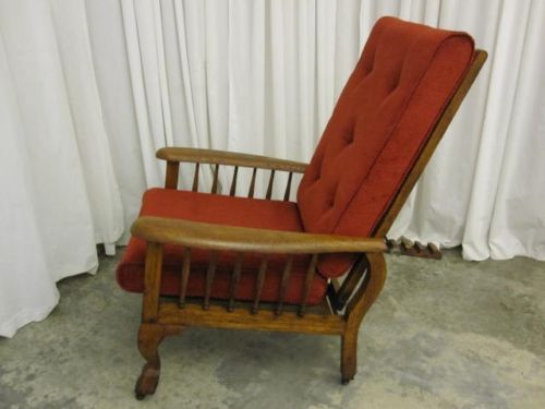 Antique-Morris-Recliner-Chair-Victorian-Style-Awesome - Antique-Morris-Recliner-Chair-Victorian-Style-Awesome Furniture