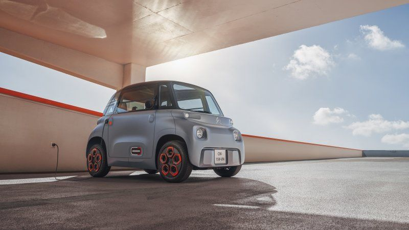 Citroen Ami electric car is not even a car but for $22 a month who cares?