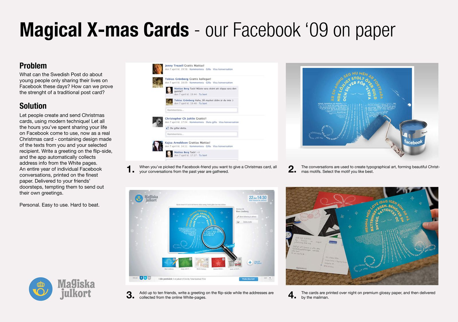 We Let People Create And Send Christmas Cards Using Modern