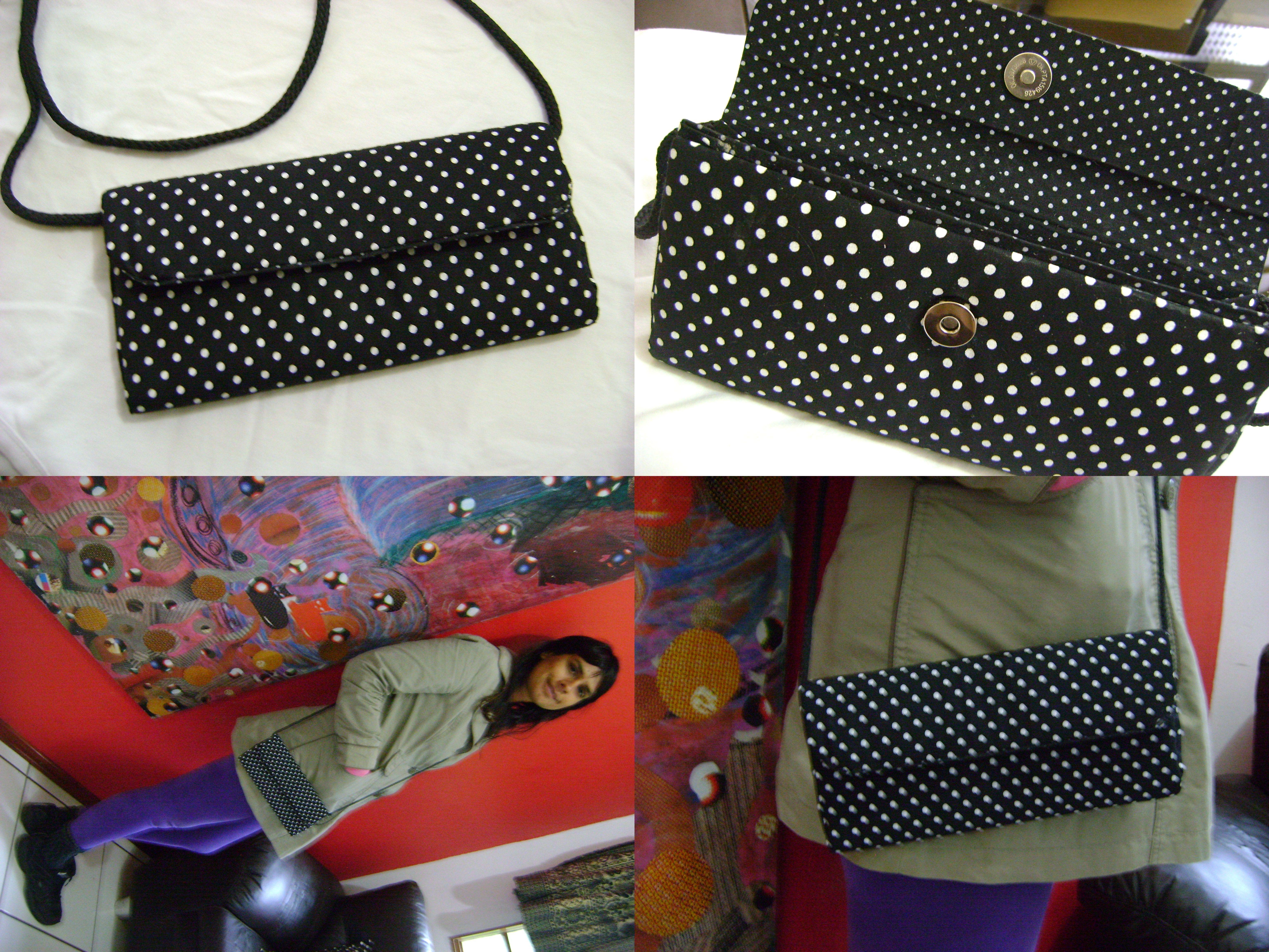 Bolsa Feita Com Caixa De Leite E Tecido : Bolsinha feita com caixa de leite revestida tecido po?