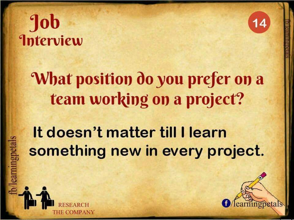 Pin by Trishal on Interview questions Pinterest Job interviews