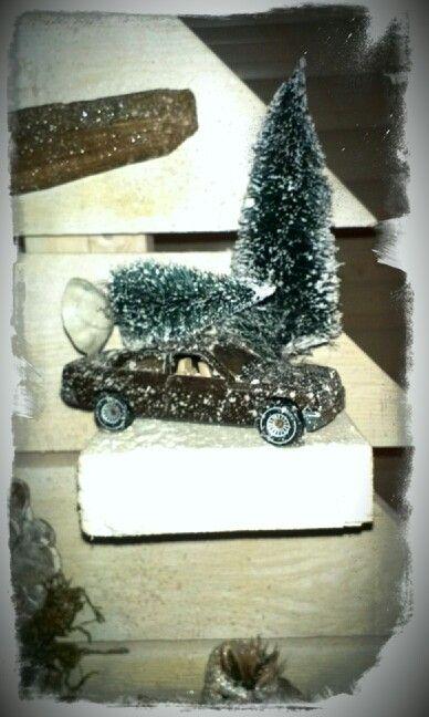 Pin Op Kerstboom Auto Zelf Maken