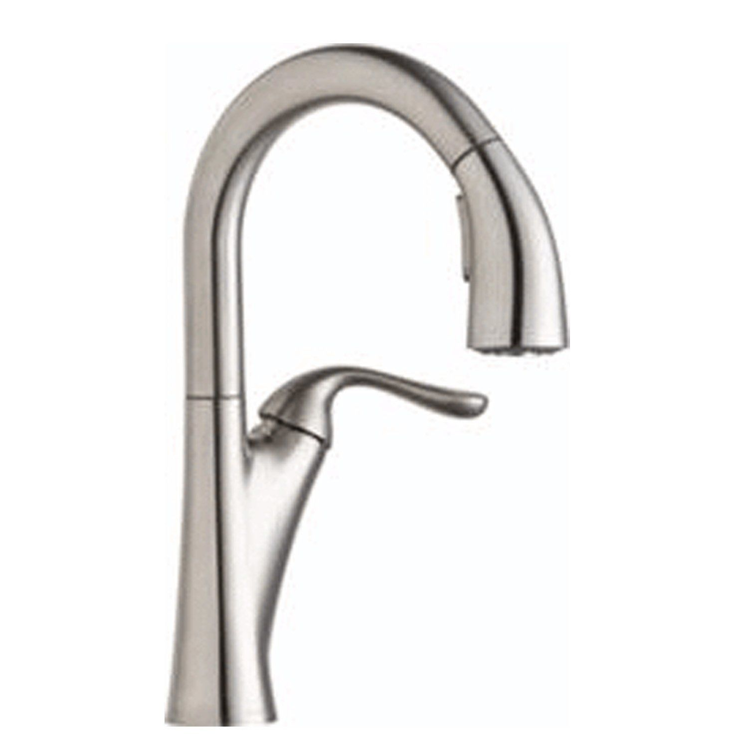 Buy Elkay Harmony Single Hole Bar Faucet with Pull-down Spray and ...