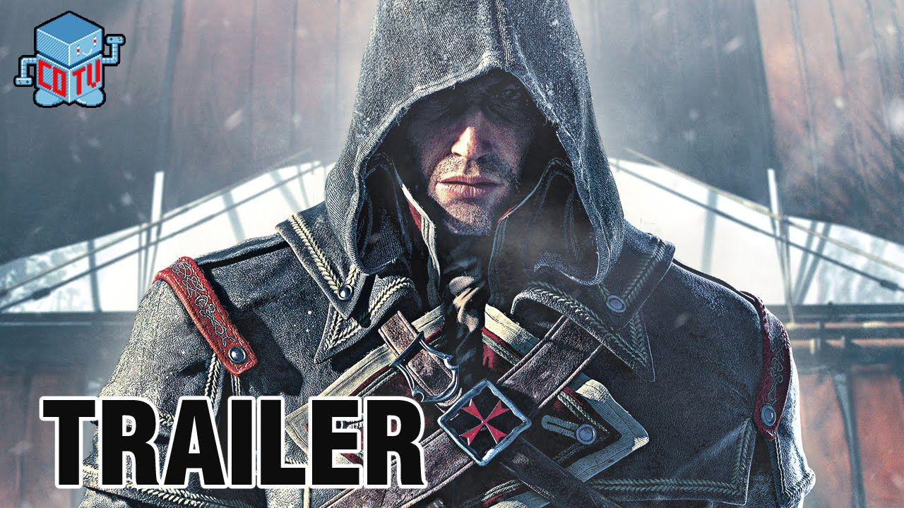 Assassin's Creed ROGUE Official Announcement Trailer
