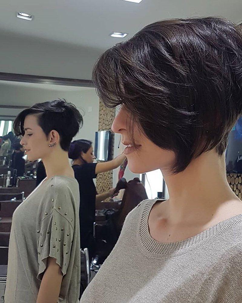 Pin En Woman Short Haircut