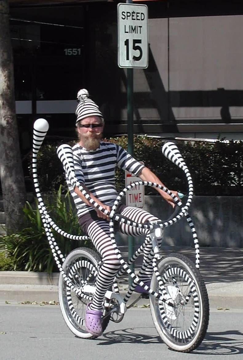 crazy bike guy