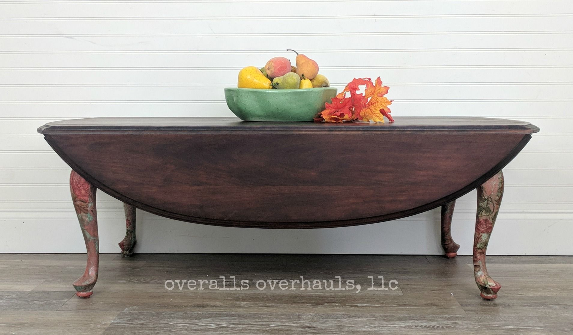 Whimsical Drop Leaf Coffee Table Coffee Table Table Decorating