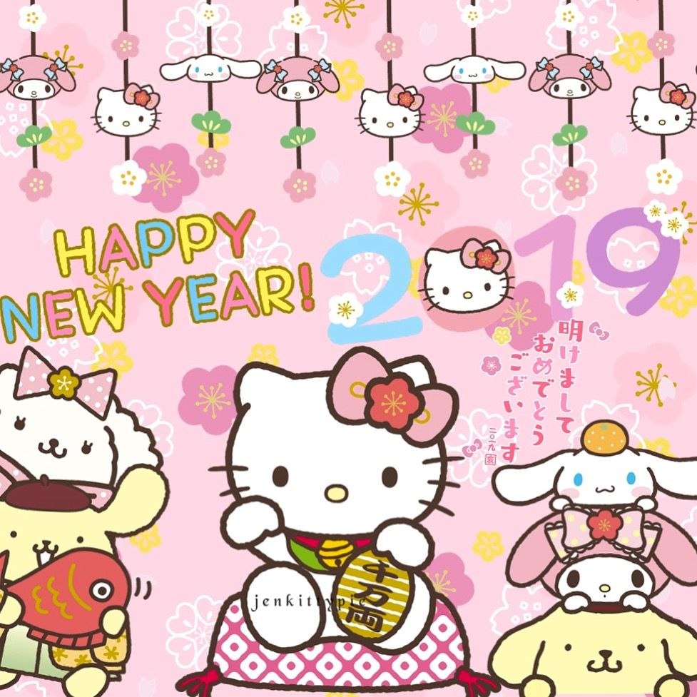 New Year 2019 ️ Hello kitty wallpaper, Hello kitty