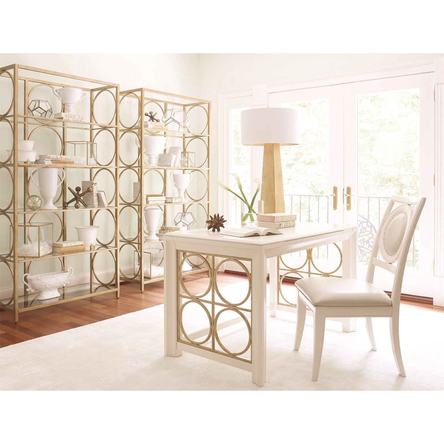 Legacy Classic Furniture 5010-5201 Tower Suite etagere in Pearl