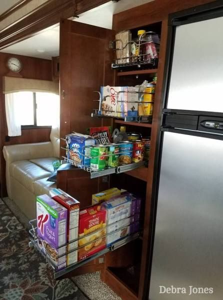 5 RV Pantry Cabinet Problems & Solutions | RV Inspiration #rvliving
