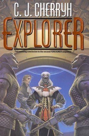 Explorer By C J Cherryh The Only Cover So Far To Feature