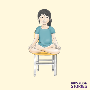 40 kidfriendly chair yoga poses with images  yoga for