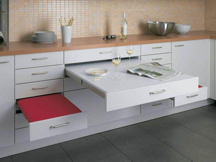 Küchengestaltung für eine optische Vergrößerung Tiny houses and House - küchenmöbel für kleine küchen