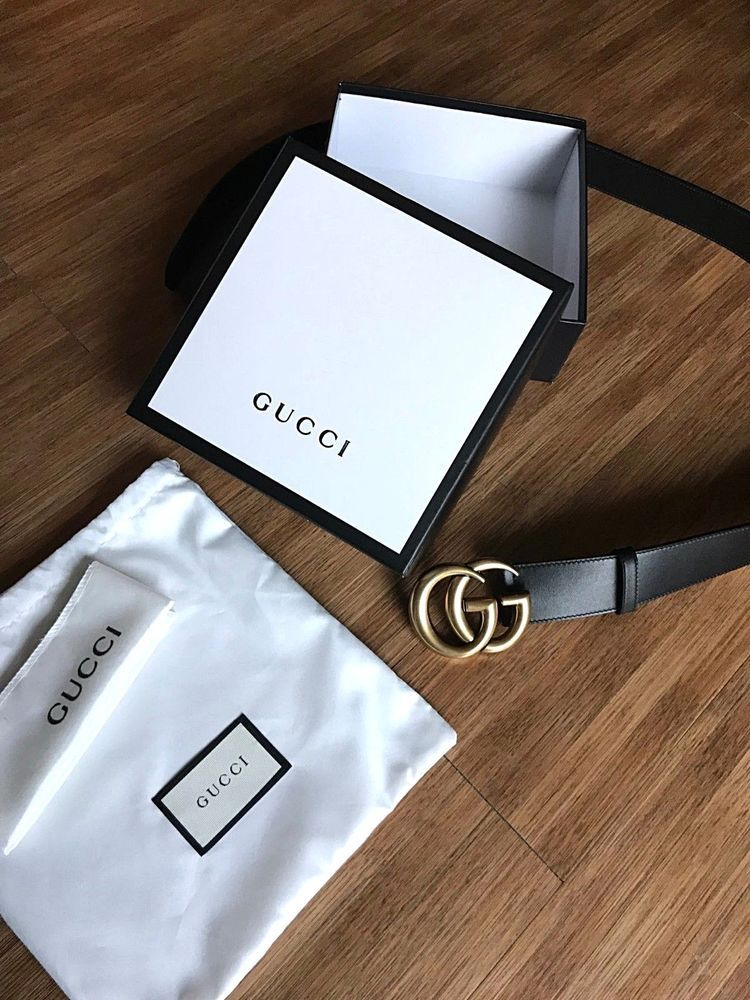 f7ce8507d68ee2 gucci belt double GG 95cm womens with box dust bag and bvelt wrapping  #fashion #clothing #shoes #accessories #womensaccessories #belts (ebay link)