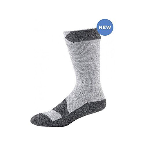 SEALSKINZ Waterproof Walking Thin Mid Socks Grey MarlDark Grey Medium *** Continue to the product at the image link.Note:It is affiliate link to Amazon.